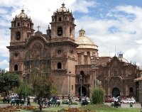 Church of la Compañía de Jesus, Cusco, Peru