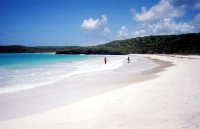Corcho Beach in Vieques island