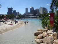 South Bank Streets Beach