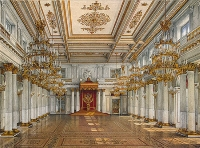 St George's Hall in the Winter Palace