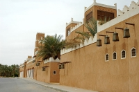 The mosque of Mohammad Bin Abdul Wahab at Old Diriyyah in Riyadh