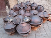 Traditional Souq goods.