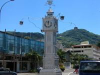 Victoria's centrally located clock tower