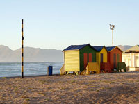 Bathing houses at Muizenberg