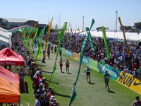 Two Oceans ultramarathon finish