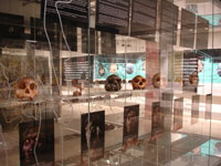 Exhibition at the Maropeng Visitor Centre