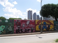 The Deep Ellum area of East Dallas