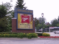 Entrance to Miller Brewery